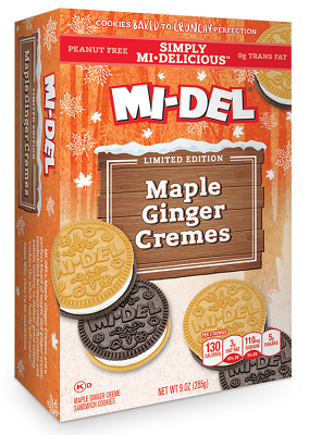 Simply MI-DELICIOUS Maple Ginger Cremes