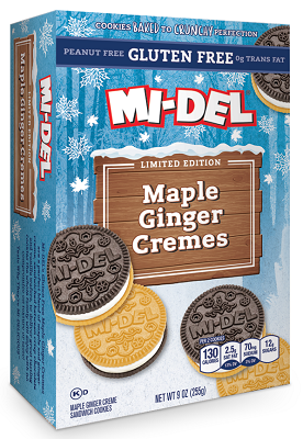 Gluten Free Maple Ginger Cremes