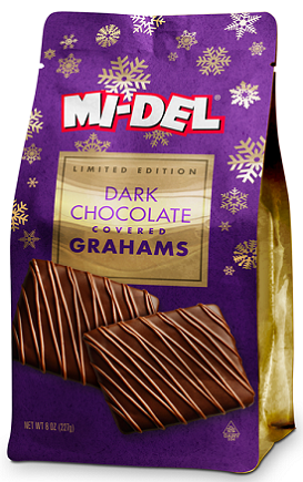 Dark Chocolate Covered Grahams
